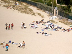 Strand von Spanien bei unser Jugendfreizeit